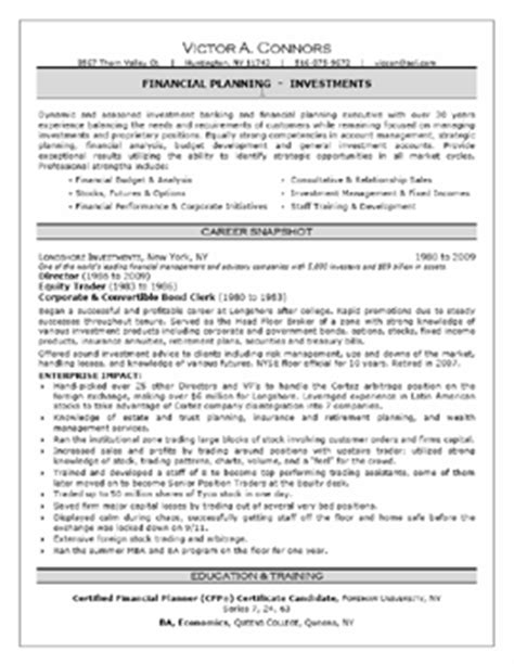 Best Resume Sles For It Professionals Sles Executive Resumes Professional Cvs Career Change Executive Resume Services