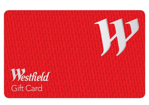 Gift Cards Westfield - 250 westfield gift card