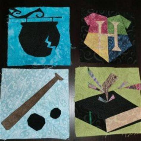 Harry Potter Quilt Blocks by More Harry Potter Quilt Blocks Harry Freakin Potter