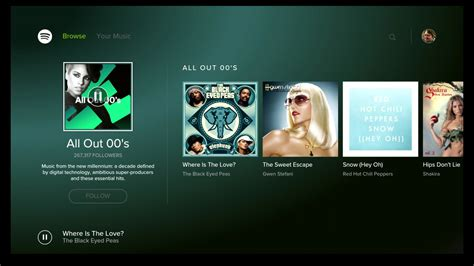 android spotify apk you can now your spotify tunes on android tv android central