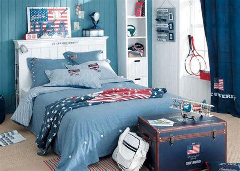chambre de garcon ado deco chambre ado garcon bleu gris visuel 6