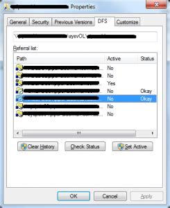 group policy  processing unhealthy dfs