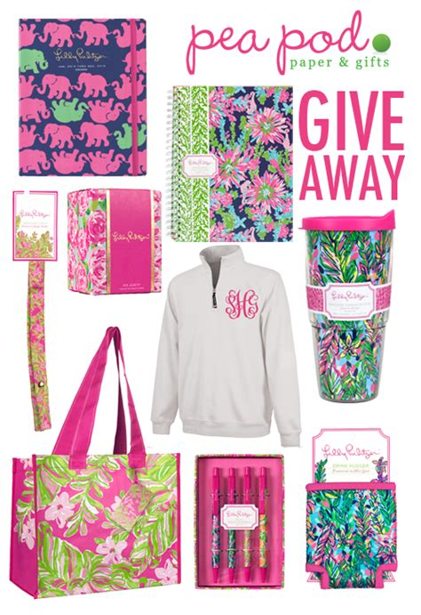 College Giveaways - pea pod paper and gifts giveaway lilly pulitzer the college prepster