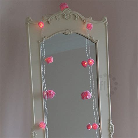 fairy lights girls bedroom battery operated pink rose bedroom fairy lights with timer