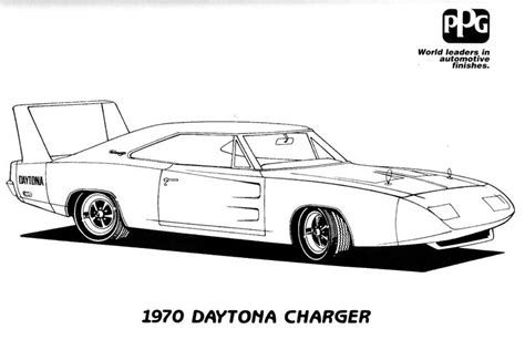 Police Car Coloring Pages Printable Dodge Charger Dodge Charger Coloring Pages