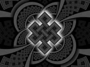 Buddhist Infinity Knot Endless Knot Sacred Geometry Mandalas