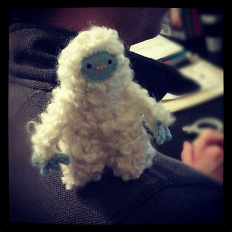 yeti crochet pattern cutieshack free pattern friday sherbet the yeti from