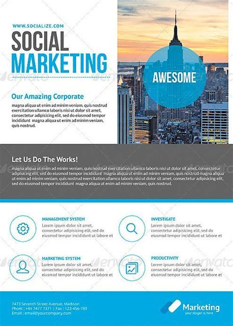 Pin By Sarah Dywinski On Corporate Identity Business Flyer Templates Flyer Template Business Business Event Flyer Templates Free