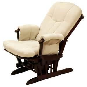Storkcraft deluxe reclining glider rocker cherry beige walmart com
