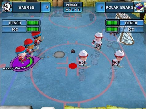 backyard hockey pc backyard hockey 2005 screenshots hooked gamers