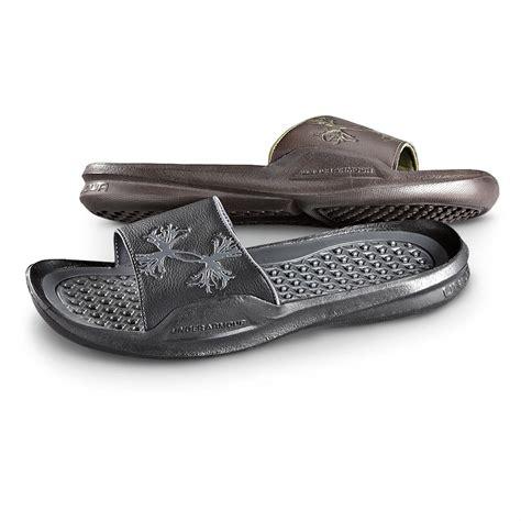 armour sandals s armour 174 antler intensity slide sandals