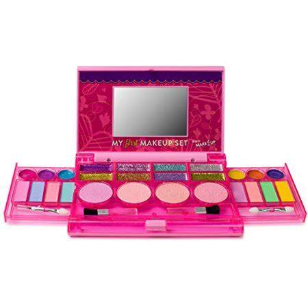 makeup set girls makeup kit fold  makeup palette  mirror  secure close