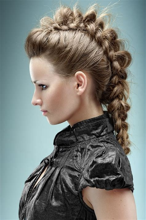 Braided Mohawks Hairstyles by Braided Mohawk Hairstyles For Hairstylegalleries