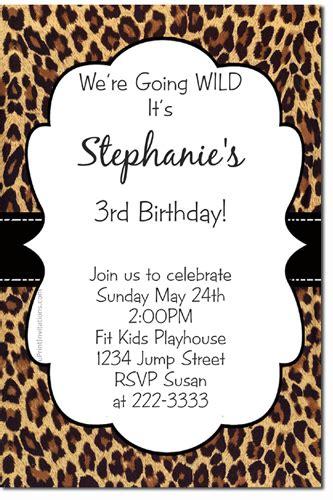 printable animal print birthday invitations animal print birthday invitations zebra print birthday