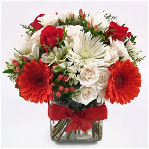 a beautiful christmas flower gift