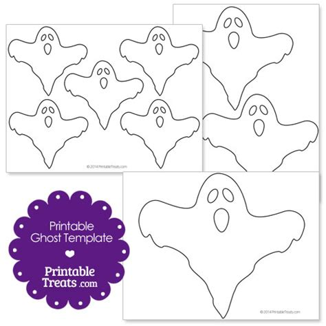 ghost template printable ghost template printable treats