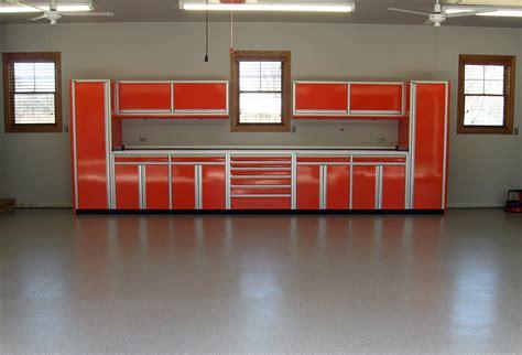 Garage Cabinets Custom Car Garage 22 Foot Wide Aluminum Cabinets