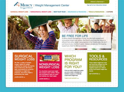 weight management mercy gels director portfolio