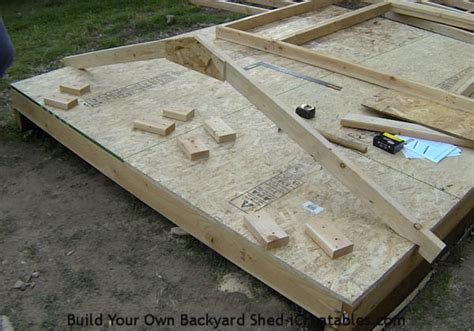 Most Popular Floor Plans how to build a shed storage shed building instructions