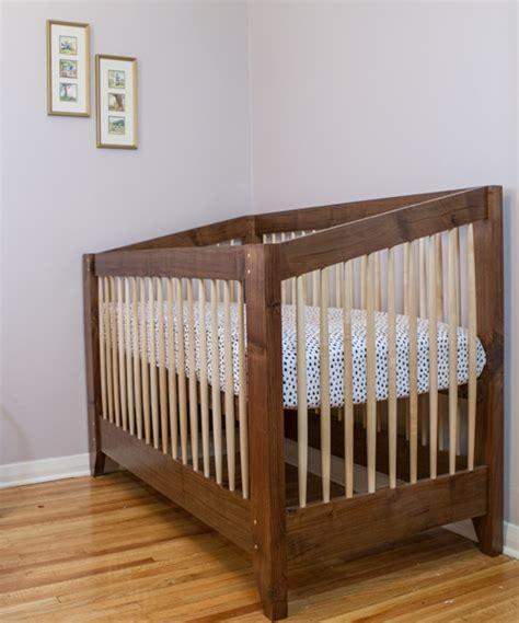 Maple Baby Crib Matt Cremona Walnut And Maple Crib