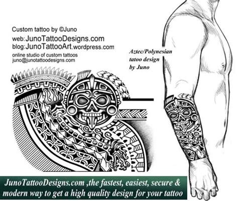 juno tattoo designs polynesian tattoos custom tattoos made to order