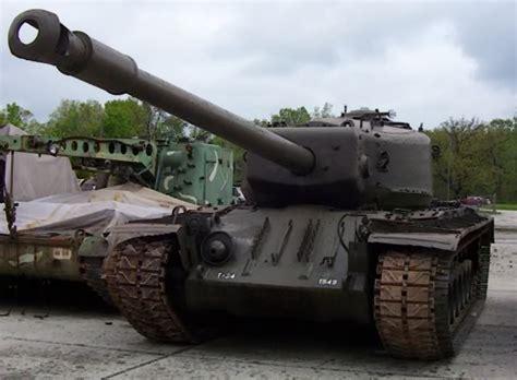 [Tanks/Vehicles] T34 Heavy Tank (120mm Gun Tank T34 ... T 34 American