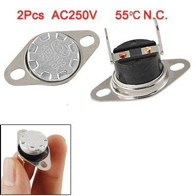 amico 2 pcs ksd302 temperature switch thermostat