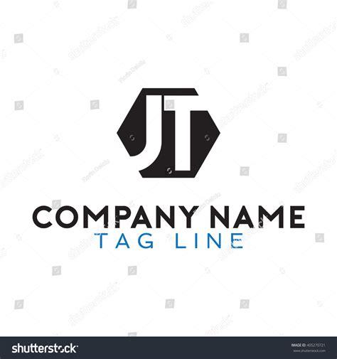 design jt logo jt logo stock vector 405270721 shutterstock