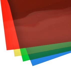 Learn Bench Translucent Coloured Sheeting Sheet Materials