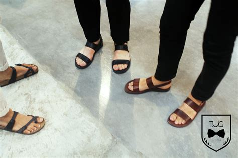 s fashion sandals the opening act new york men s fashion week day 1 the