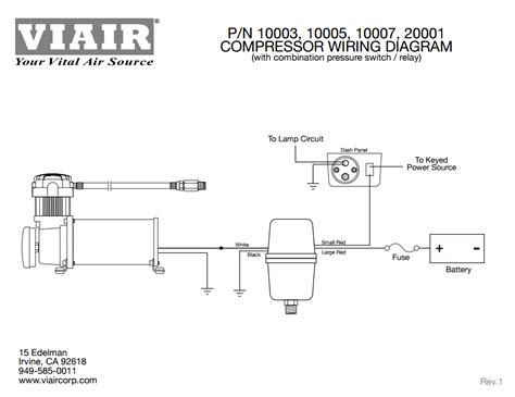 wiring diagram for 12v air compressor diagram