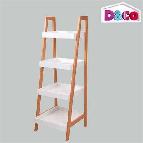echelle en bois déco 2856 meuble 233 chelle 4 niveaux d co bambou meuble eminza