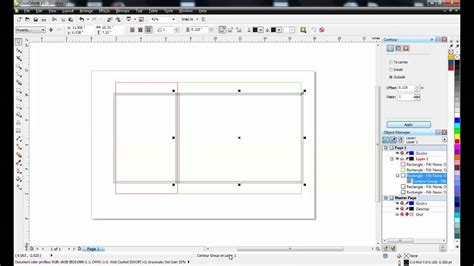 coreldraw tutorial en francais coreldraw tutorial creating pop up christmas card layout 1