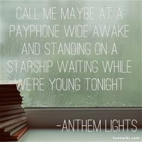 anthem lights on lights youth groups and