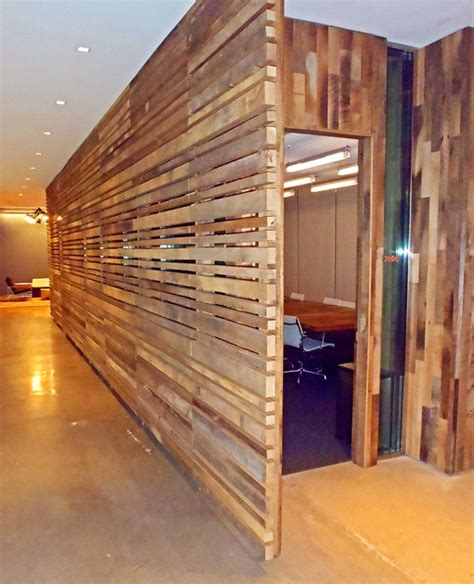 reclaimed wood divider slat wall on pinterest wood slat wall ikea and