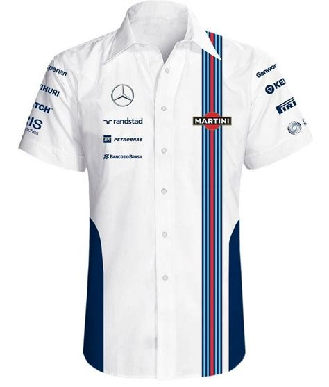 blue martini uniform williams martini replica team shirt 2014 racing
