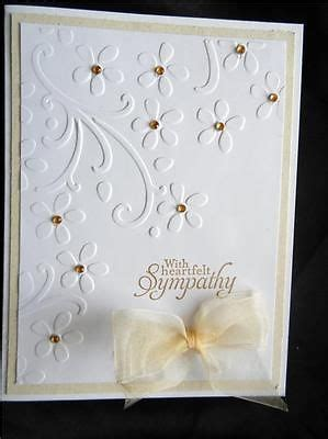 Handmade Sympathy Card Ideas - details about handmade sympathy card using stin up with
