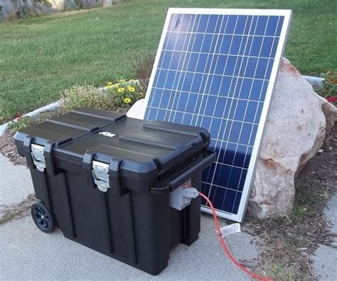 best backup solar generators for home use 2017