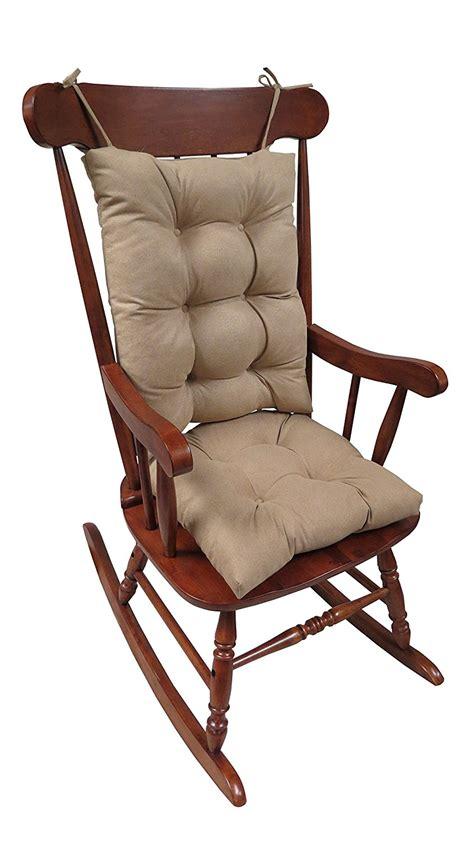 wide rocking chair cushions the gripper non slip rocking chair cushion set honeycomb