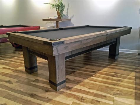 plank and hide pool table plank and hide morse pool table robbies billiards