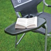 Aluminum Deck Chair With Swivel Table Coleman