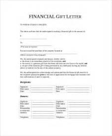 gift letter sle template design