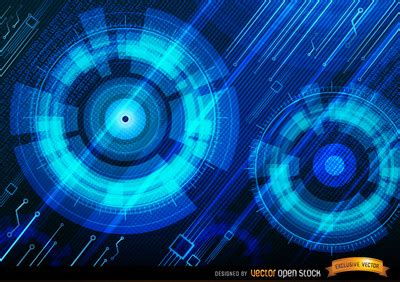 Light And Bright White Sf T1310 1 technologic blue background vector free vector