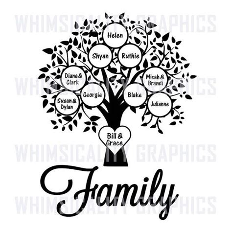 drawing a family tree template drawing a family tree template
