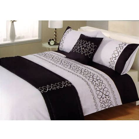 Tj Hughes Bedding Sets Scrolls Black Bedding Set Tj Hughes
