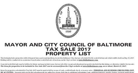 Baltimore Property Tax Records Unreported Opinions March 2017 Upcomingcarshq