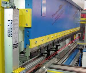 Brake Guard Safety System Advanced Manufacturing Solutions Press Brake Safety