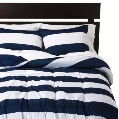 Room Essentials Blend Comforter by 100 Polyester Is Solid Blue No Shams Room