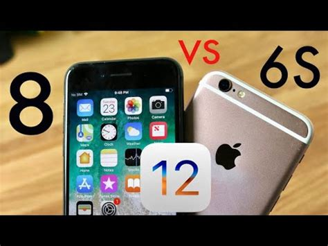 iphone 6s vs iphone 8 on ios 12 speed comparison review
