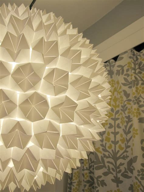 Origami Paper Lanterns - beautifully contained fortune teller paper lantern